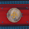 "10"" Buffalo Native American Frame Drum B103"