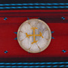 "10"" Elk Native American Frame Drum E105"