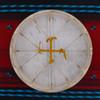 """16"""" Deer Native American Frame Drum D169"""