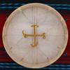 "18"" Elk Native American Frame Drum E1829"