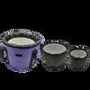 8 Bowl G 432hz Empyrean Crystal Bowl Chakra Set