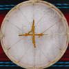 """20"""" Deer Native American Frame Drum D203"""