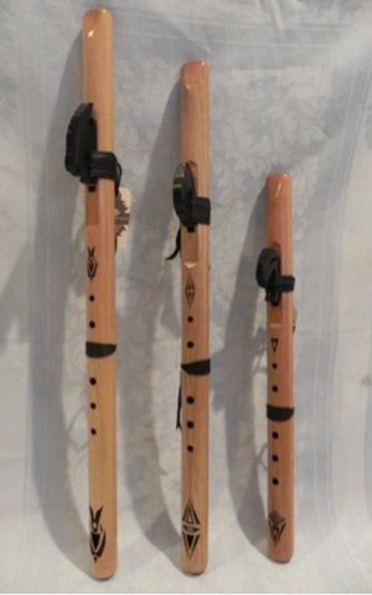 Spanish Cedar Love Flutes