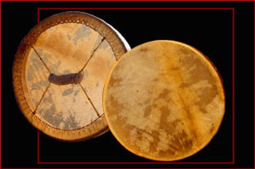 Native American Antler Drum.