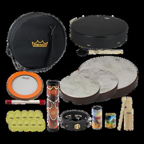 REMO Travel Percussion Drum Kit