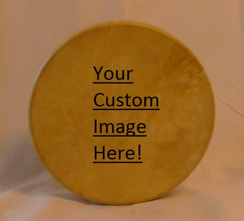 Medicine Drum Paintings by Commission