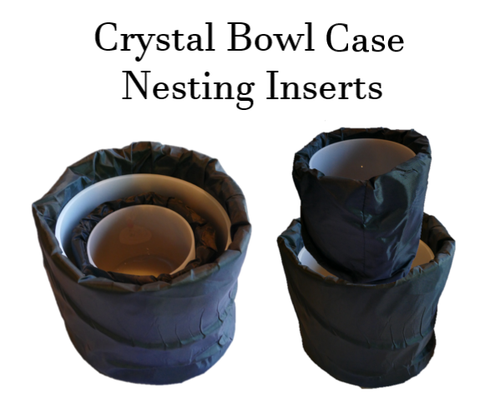Protective Nesting Inserts for Crystal Bowl Cases
