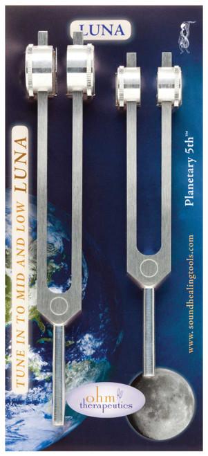 Luna Octave Tuning Fork Set