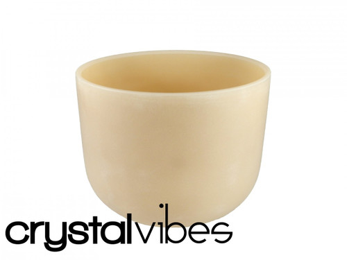"Cerium A Note Crystal Singing Bowl 12"" +15 cents  22000019"