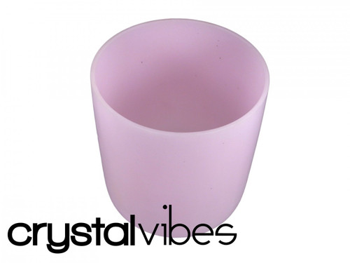 """Perfect Pitch Erbium C#  Note Crystal Singing Bowl 11"""" +10 cents  23000014"""