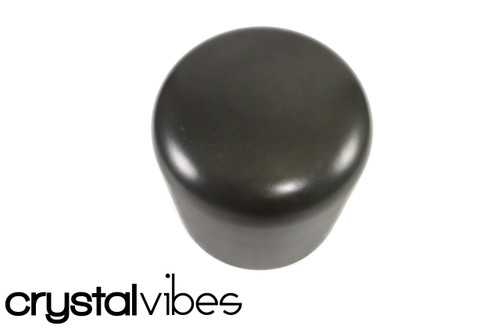 """Opaque 8"""" G#  Note Obsidian Fusion Crystal Singing Bowl +45 cents  11000251"""