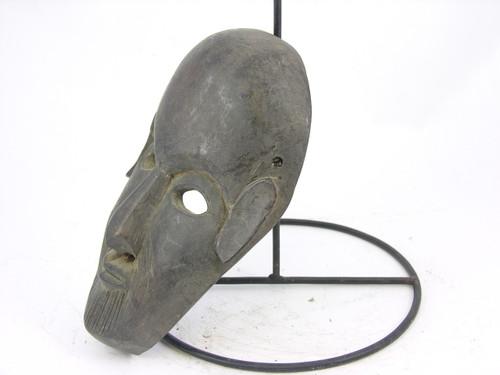 Primitive  Deity Mask Hand Carved Wood #M827