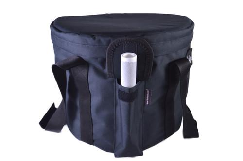 """Medium Black Singing Bowl Carrying Case 9-12"""""""