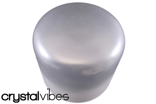 """10"""" G Note Vibhuti Infused Empyrean Crystal Singing Bowl -45 cents  11000706"""