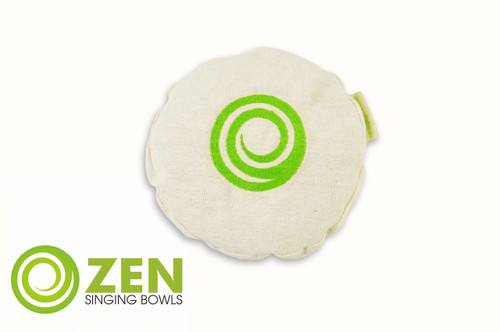 Zen Singing Bowls Medium Natural Cotton and Buckwheat Cushion