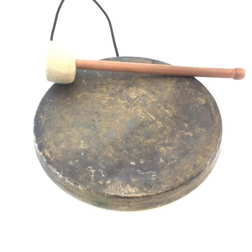"""Antique Burma Gong 11.25"""" gong718"""