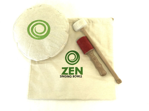 "Zen Therapeutic 1300 Gram A Note Singing Bowl 8.75"" #zt1300ha1298"