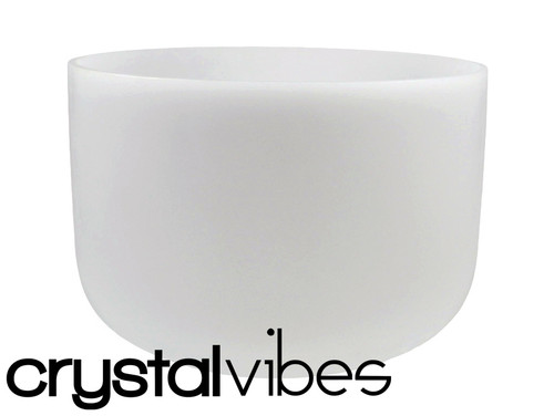 """#11"""" Perfect Pitch Empyrean Crystal Singing Bowl E Note Ca0011Ep5     #31001911"""