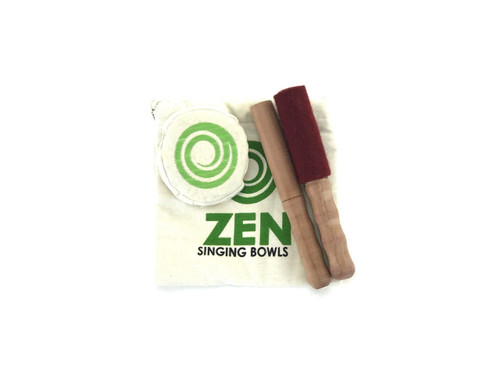 "Zen Master Meditation Series A#  Note Singing Bowl 4.5"" -300a324 cents"