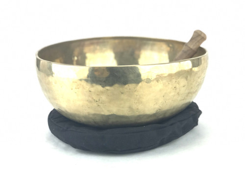 "14.25"" D#/A# Note Himalayan Singing Bowl #d43520118"