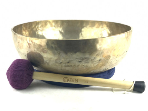 "19.25"" A#/E Note Himalayan Singing Bowl #a99200218"