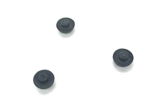 Metal Chakra Drum Rubber Foot Replacement -foot cents