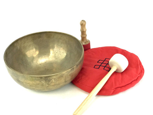 "13.25"" E/B Note Himalayan Singing Bowl #e33520518"