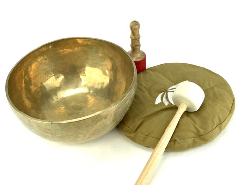 "13.25"" E/B Note Himalayan Singing Bowl #e31980518"