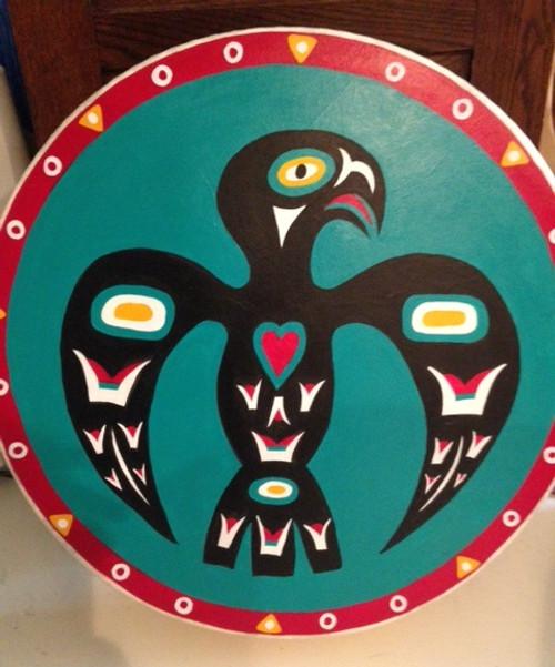 """Thunderbird 22"""" REMO Buffalo Drum PREMADE"""