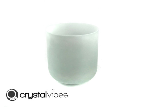 """7"""" Perfect Pitch D#    Note Turquoise Fusion Featherlight Crystal Singing Bowl +10 cents  11000911"""