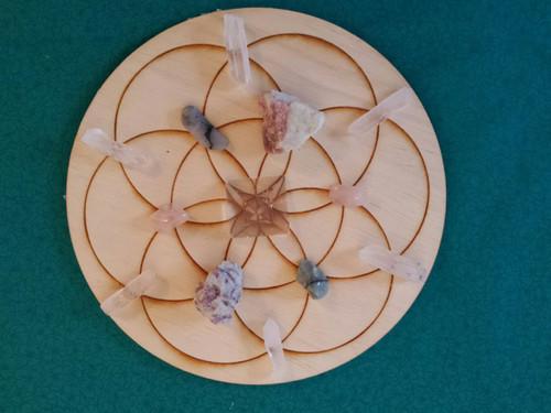 Love Crystal Grid Kit