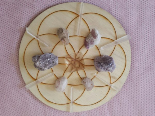 Calmness Crystal Grid Kit
