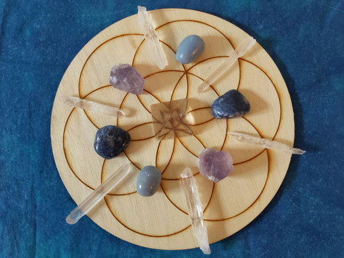 Health and Wellness Crystal Grid Kit