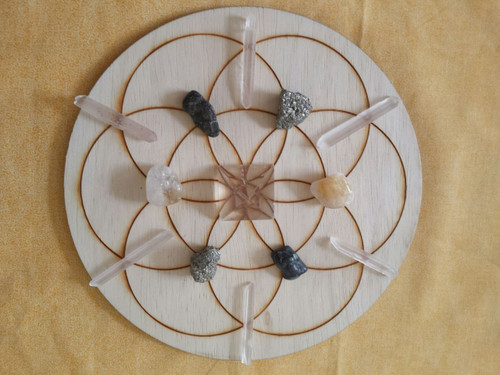 Abundance Crystal Grid Kit