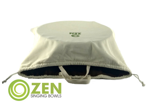 Zen Singing Bowls XXXL Grounding Bowl Natural Cotton Bag