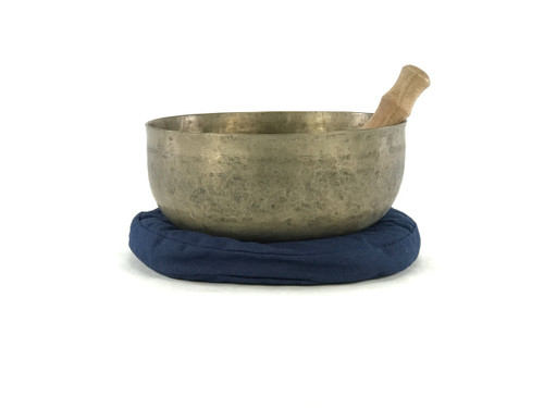 "11.5"" D#/A Note Antique Himalayan Singing Bowl #d23750319"