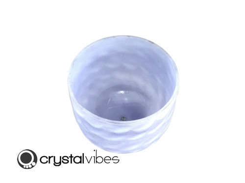 "10"" F Note Amethyst Fusion Empyrean Crystal Singing Bowl -45 cents  11001153"