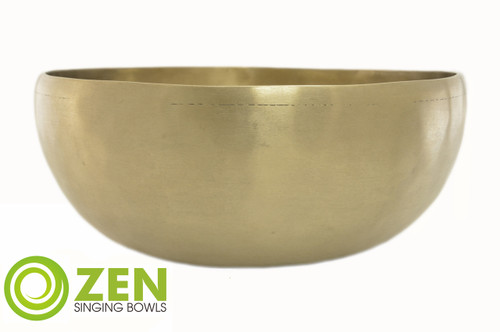 "F#/C# Note Zen Bioconcert Series 2500 Gram Singing Bowl 12"" #zbc2500f2336"