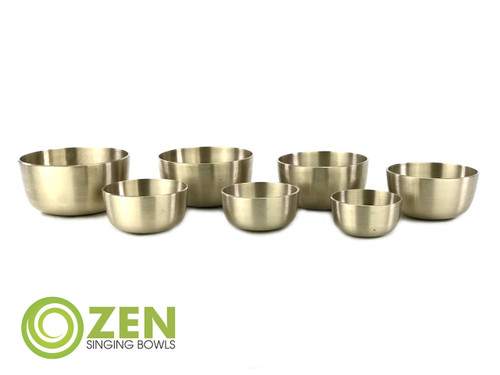 Zen Singing Bowls 7-Bowl Nepali Cast Set