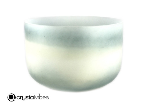 """13"""" Perfect Pitch D#  Note Turquoise/Citrine Empyrean Crystal Singing Bowl +0 cents  11001207"""
