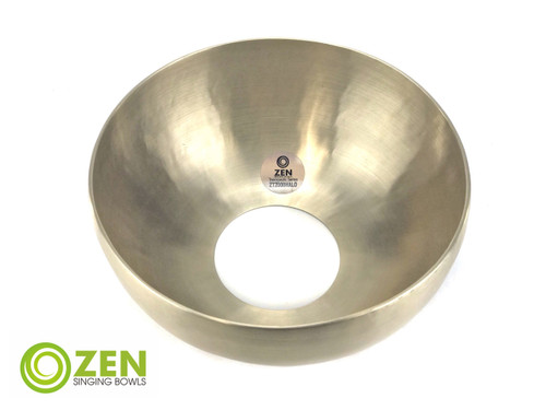"""Zen Therapeutic Halo 2000 Gram D/A Note Singing Bowl 11.25"""" #zt2000halod1840"""