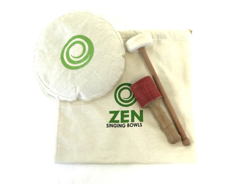 """Zen Therapeutic Halo 2000 Gram D/A Note Singing Bowl 11"""" #zt2000halod1670"""