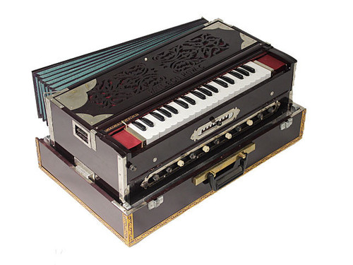 Paul and Co. 3 Reed Scale Change Fold Up Harmonium 9 Scale