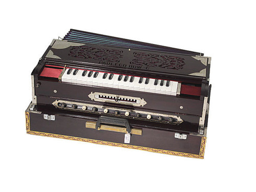 Paul and Co. 3 Reed Scale Change Fold Up Harmonium - 13 Scale