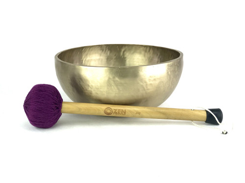 "Zen Grounding 4622 Gram F#/D Note Singing Bowl 14"" #ztg4622"