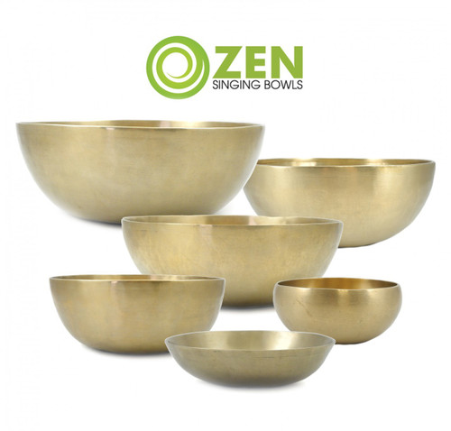 "Zen Therapeutic Series Flat 2000 Gram Singing Bowl 13.5"" #zt2000flata2015"