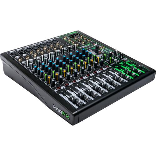 Mackie ProFX12v3 12-channel Mixer with USB (7 XLR Mic Input)
