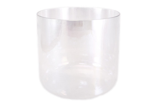 """Crystal Vibes Clear Quartz C#  Note Crystal Singing Bowl 7"""" +35 cents  33001545"""