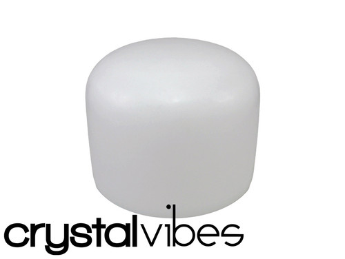 """Crystal Vibes Empyrean 432Hz Perfect Pitch A#  Note Crystal Singing Bowl 13"""" -35 cents  31002494"""