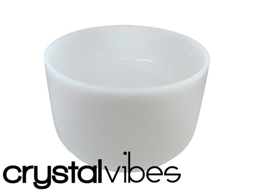 """Crystal Vibes 11"""" Perfect Pitch Empyrean Crystal Singing Bowl C# Note Ca0011Cspp0   #31002693"""